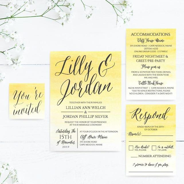 Wedding Invitations With Rsvp Online Wedding Invitations Online