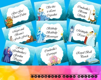 Cinderella Food Labels