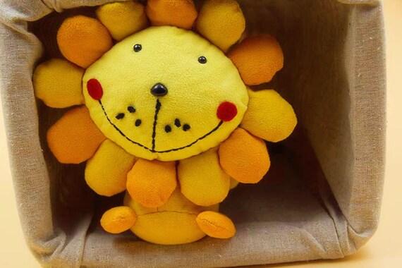 Süß gefüllte Kind Puppe Baby Spielzeug Cute Lion Kits Muster | Etsy