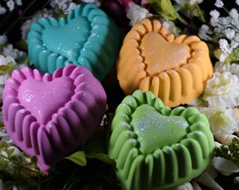 Bath Bombs***Set of 4***6 Ounces Each***Foaming***Colored Water***Pick Your Color***Pick Your Fragrance***Superior Quality