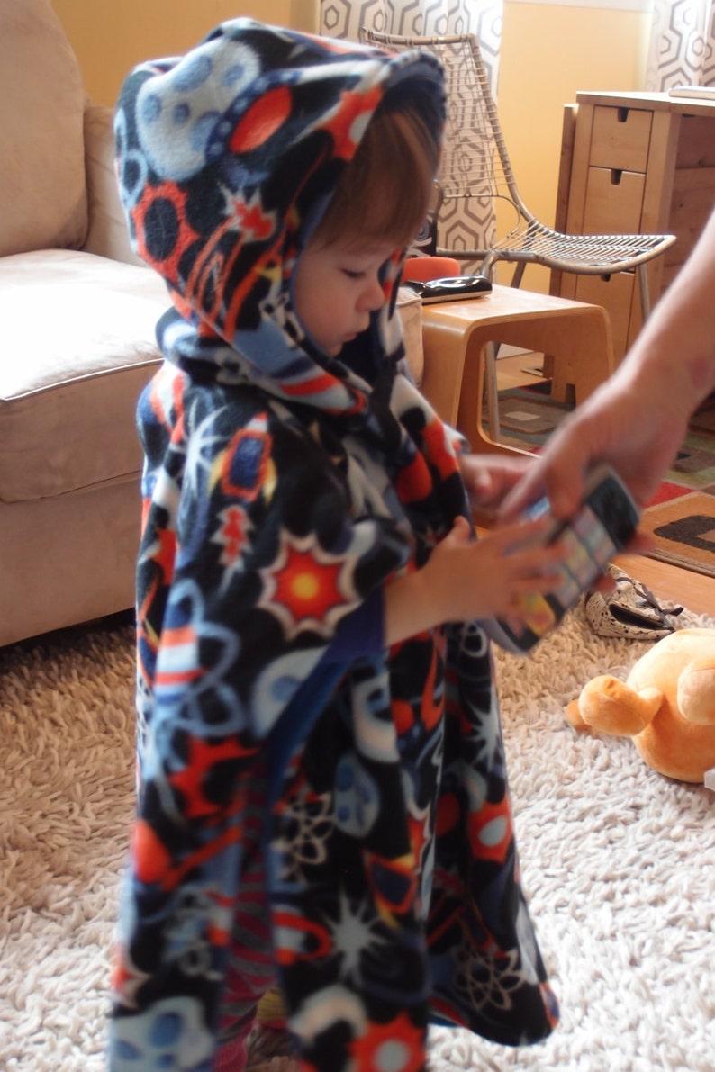 Dora the Explorer Reversible Fleece Hooded Poncho **