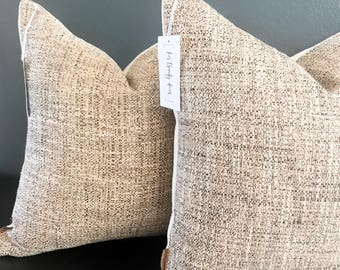 Neutral Throw Pillow Etsy