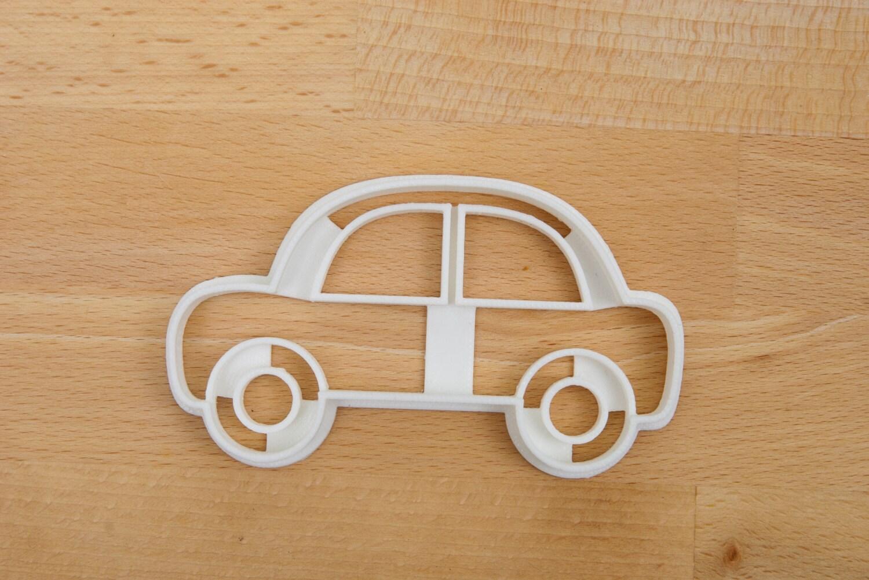 auto cookie cutter einfach niedlich auto ausstecher. Black Bedroom Furniture Sets. Home Design Ideas