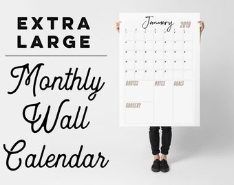 Giants Calendar 2019 Large wall calendar | Etsy