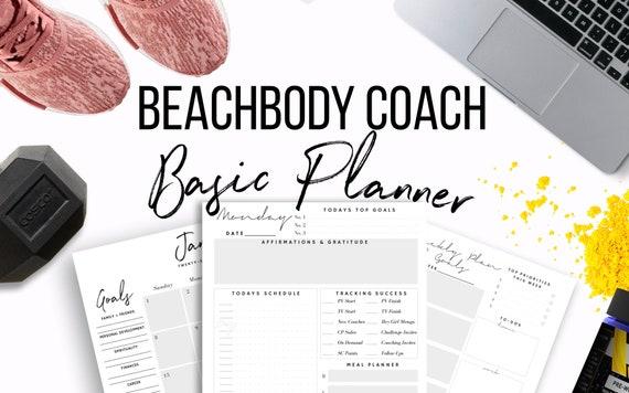 2018 2019 beachbody coach business planner printable 2017 us colourmoves