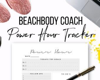 Beachbody Coach Power Hour Tracker