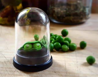 The Pet Peas in a pod, gift, vegan gift, Christmas gift, stocking filler, birthday gift, friendship gift, anniversary gift, secret santa