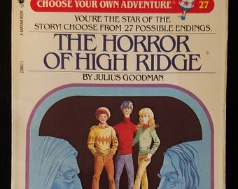 Choose Your Own Adventure #27 The Horror Of High Ridge (1984)