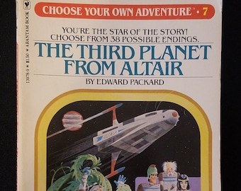 Choose Your Own Adventure #7 The Third Planet From Altair (1980)