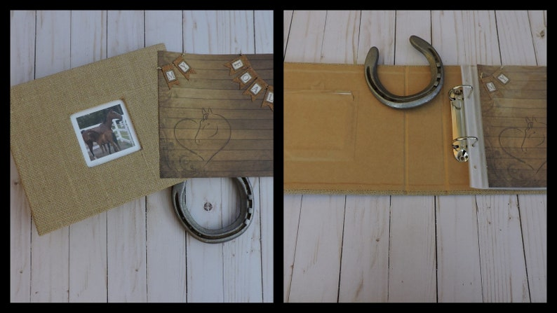 Foal Record Book with Neutral Accents and Album