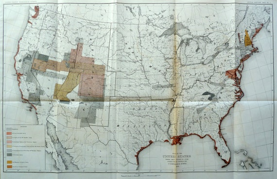 Geological Map of the United States (1883)