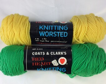 Vintage Coats and Clark's Worsted Wool