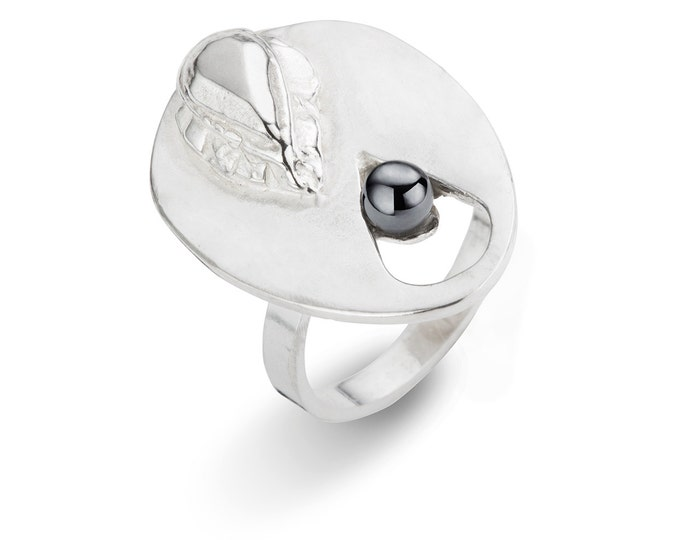 Sale: 159 - 50% = 79,5  Silver PERA ring