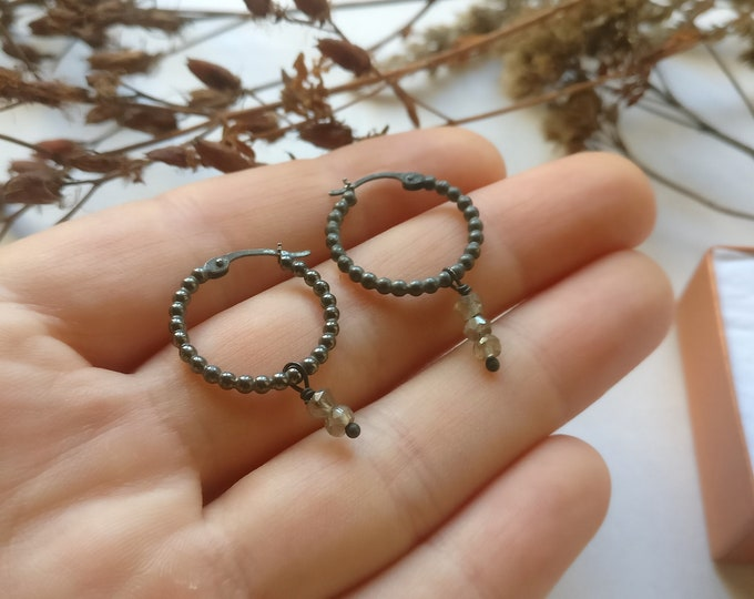earring BLACKRING.