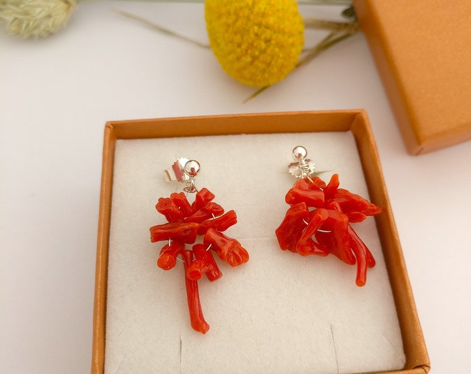Earring CORAL.