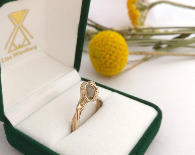 Ring CUBE DIAMOND.