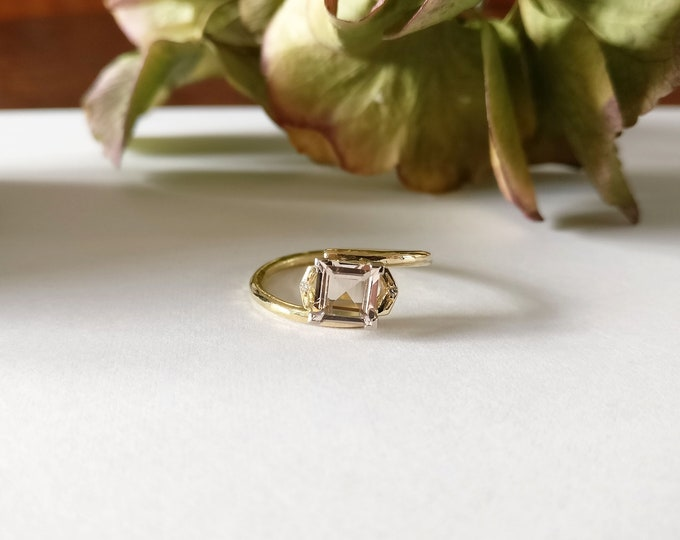 One of a kind ring: MORGANITE.