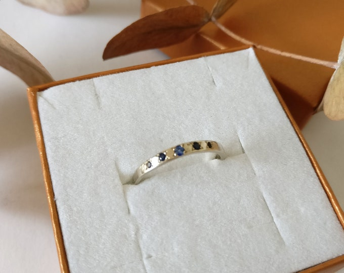 ONE of a kind 5x SAPPHIRE ring