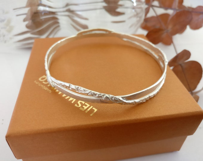 TRIPLE silver bracelet.