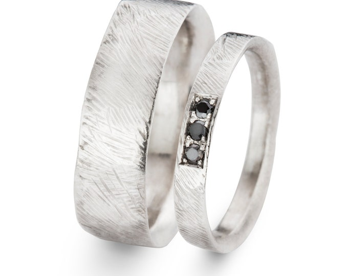 Wedding rings CAESAR and CLEOPATRA.