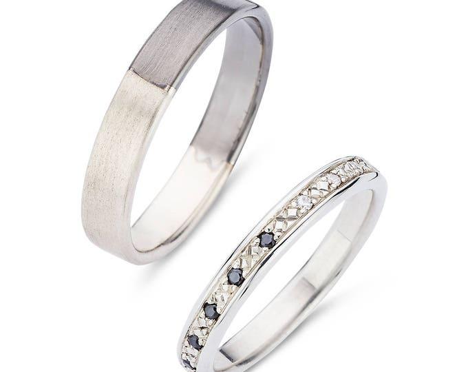 Wedding ring DAVID AND IMAN.