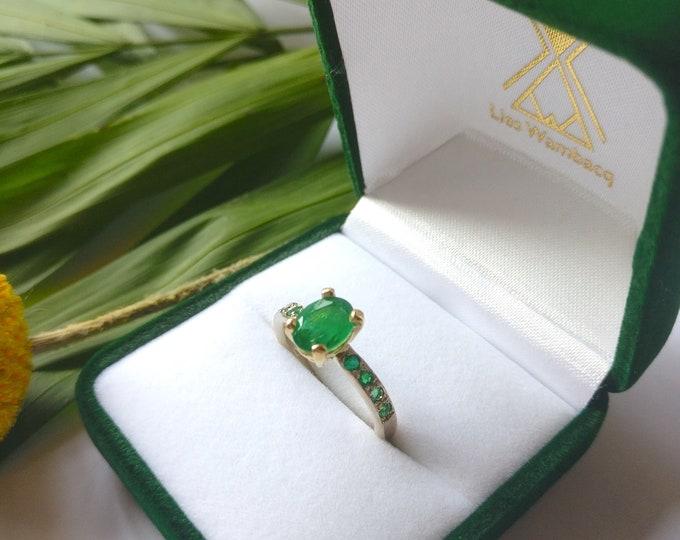 Featured listing image: JARDIN DES EMERAUDE ring