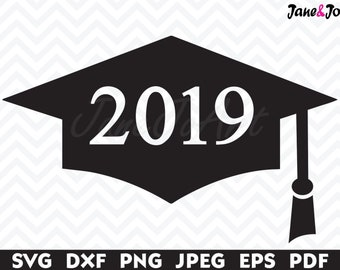 Graduation cap svg | Etsy