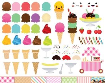 Ice Cream Graphics Etsy