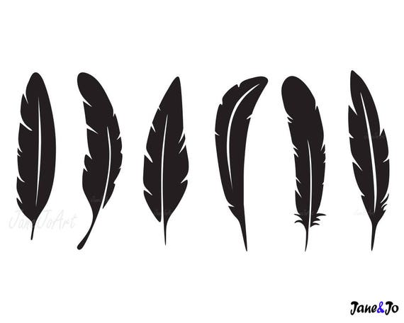 feather svg feathers svg feather clipart cricut feather etsy