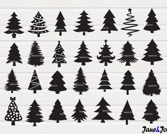 Christmas Tree Svg Christmas Tree Cut File Svgtree Christmas Etsy