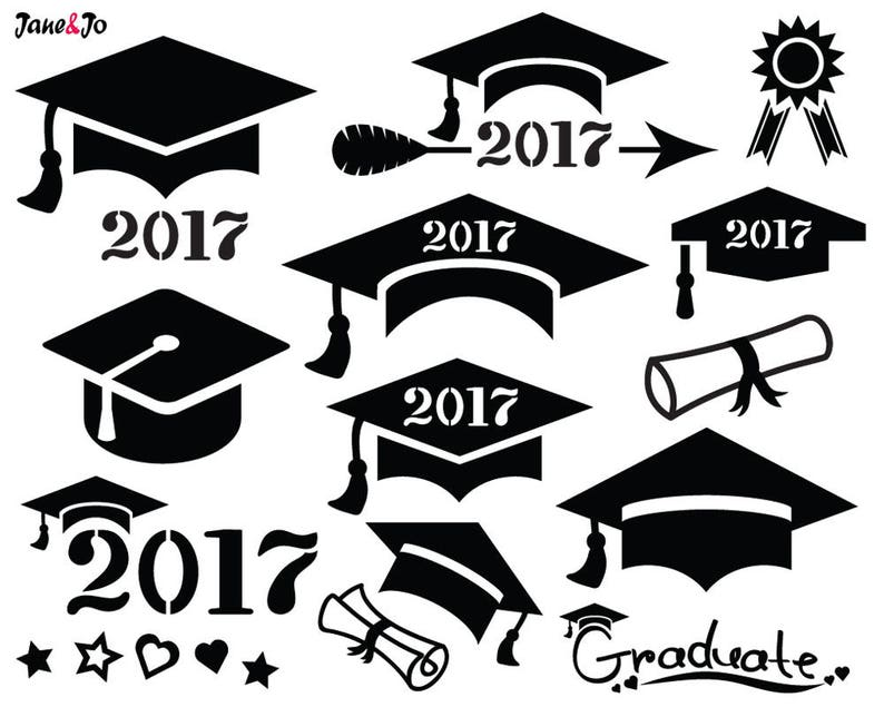 Graduation SVG Graduation Cap SVGGraduation Svg Cut image 0