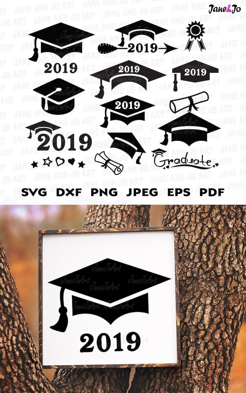 Graduation Svg Graduation Cap Svggraduation Svg Cut Etsy