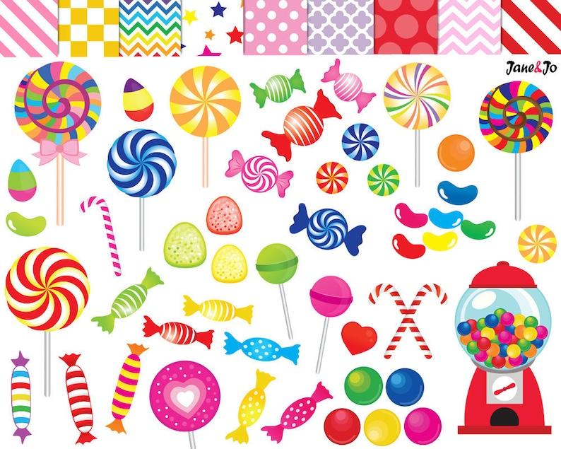 52 Candy clipartcandy clip artprintablelollipop image 0