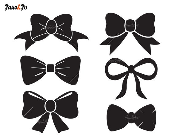 Bow Tie Svg Bow Svg File Bow Vectorbow Clipart Bow Svg Etsy