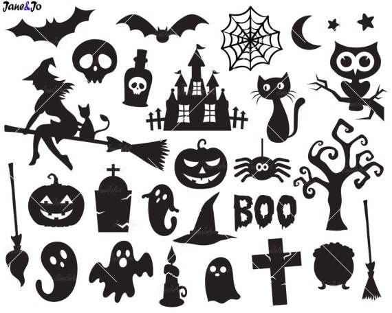 Halloween Svghalloween Witch Svghalloween Ghost Etsy