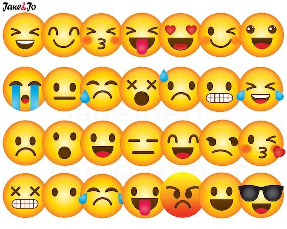40 emoji clipart emoji clip art smiley face emoji clipart rh etsystudio com emotions clip art poster emoticons clipart free