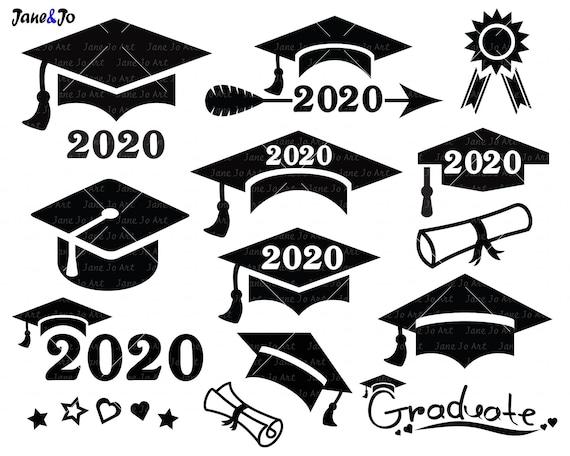Graduation Svg Graduation Cap Svggraduation 2020 Svg Cut Etsy