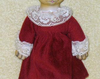Vintage cat doll
