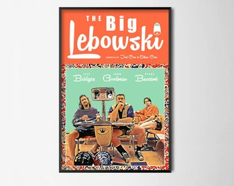 The Big Lebowski - Alternative Film Poster // Wall Art Poster // Home Decor // Office Art
