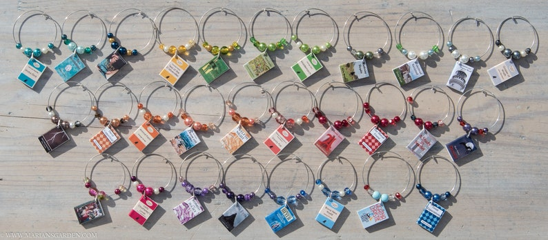 Book charms for a book club party you choose the number I image 0