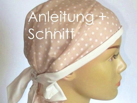 Schnittmuster Wende-Piratentuch f. Freizeit Chemo | Etsy