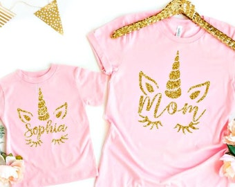 Girls Unicorn Shirt - Unicorn T Shirt - Mommy and Me Outfits - Matching  Mother Daughter - Unicorn Tees - Mother Daughter Outfits - Unicorn 6d0a3b7c3