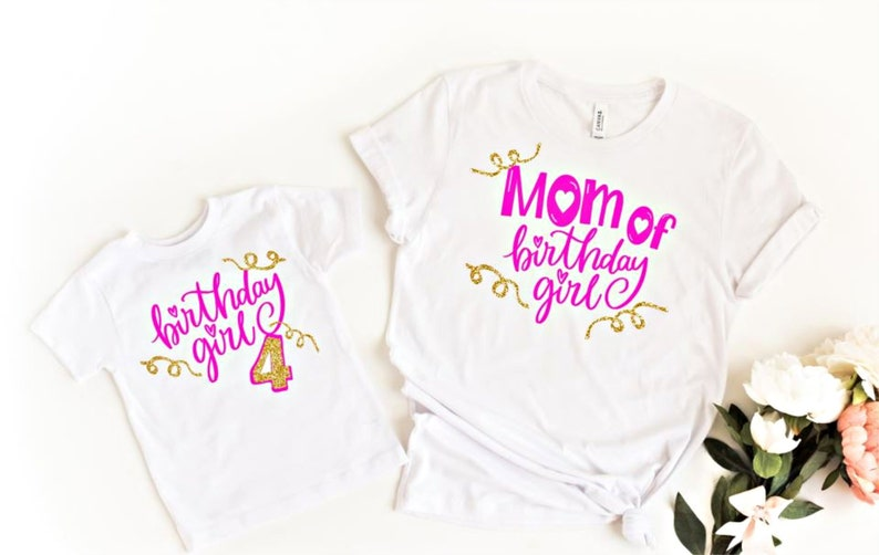 b871a011 Mom and Daughter Birthday Outfits Mommy and Me Birthday | Etsy