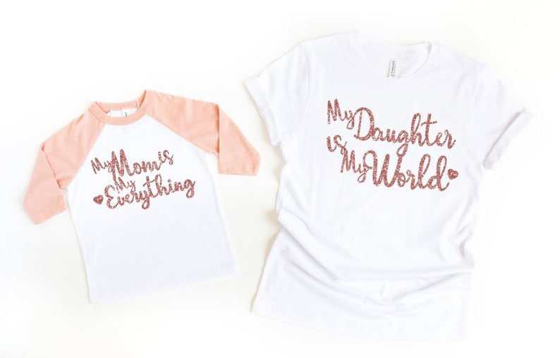 6a7b423e Mommy and Me Shirts Mother Daughter Shirts Mommy and Me | Etsy