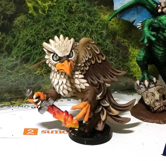 Hippogryph Hand painted rare model
