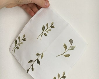 handkerchief cotton reusable eco-friendly fabric