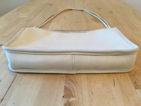 Vintage Coach Bonnie Cashin Shoulder Bag, Ivory - image 4
