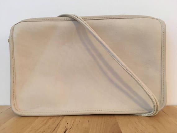 Vintage Coach Bonnie Cashin Shoulder Bag, Ivory