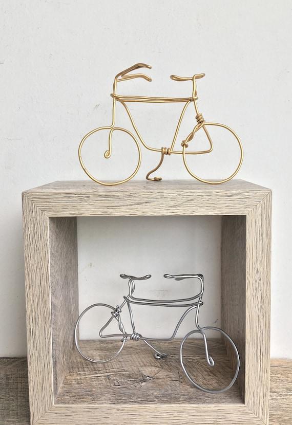 Zwei Mini-Fahrräder Draht Fahrrad   Etsy