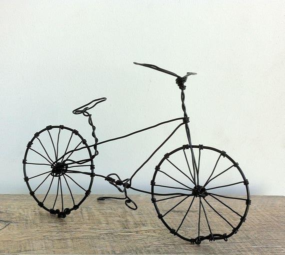 Handgefertigten Draht Fahrrad Schrott Metall Kunst Metall   Etsy